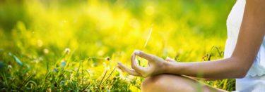 Meditation mit Handmudra