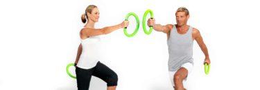 Frau und Mann beim smovey Workout